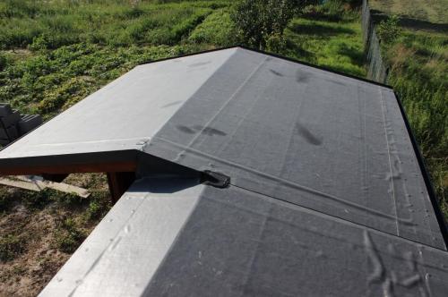 EPDM sikma strecha