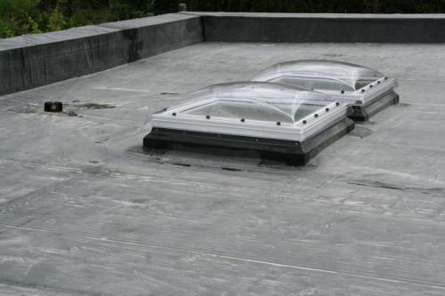 Strecha EPDM so svetlíkmi 4